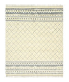 Luxor Lane Knotted Esh-S3185 Cream Area Rug