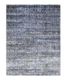 Luxor Lane Knotted Rup-S3196 Charcoal - Blue Area Rug