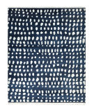 Luxor Lane Knotted Irm-S3205 Navy Area Rug