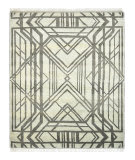 Luxor Lane Knotted Kas-S3214 Sea Green Area Rug