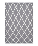 Luxor Lane Flatweave Pin-S3232 Gray Area Rug