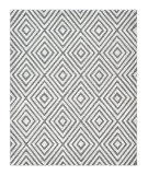 Luxor Lane Knotted Bar-S3240 Gray Area Rug