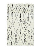Luxor Lane Knotted Siy-S3258 Ivory Area Rug
