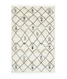 Luxor Lane Knotted Ami-S3304 Ivory Area Rug