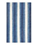 Solo Rugs Flatweave S3309-BLUE  Area Rug