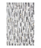 Solo Rugs Cowhide S3338-GRAY  Area Rug