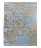 Luxor Lane Knotted Nic-S3513 Sky Blue Area Rug