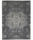 Luxor Lane Knotted Dax-S3524 Gray Area Rug