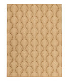 Solo Rugs Grit and Ground Sea Shell Brown Area Rug