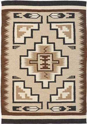 Southwest Looms Dreamcatcher Grey Hills N-02 Area Rug