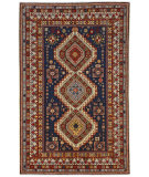 Persian Carpet Classic Revival Shirvan AP-35A Navy Area Rug