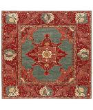 Persian Carpet Classic Revival Oushak AP-38 Green Area Rug