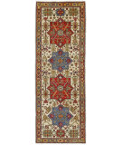 Persian Carpet Classic Revival Kazak AP-4A Ivory Area Rug