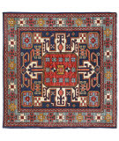 Persian Carpet Classic Revival Shahsavan AP-60 Navy Area Rug