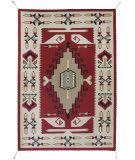 Southwest Looms Dreamcatcher N-23 Three Grey Hills Area Rug