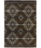 Southwest Looms Santa Fe SF-04A Estancia Chocolate Area Rug