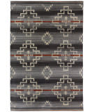 Southwest Looms Santa Fe SF-04B Estancia Charcoal Area Rug