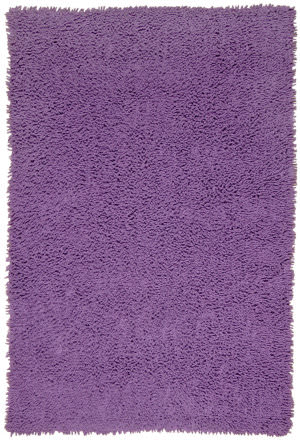 St. Croix Shagadelic Chs11 Purple Area Rug
