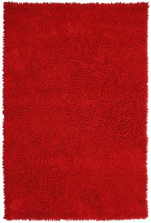 St. Croix Shagadelic Chs13 Red Area Rug