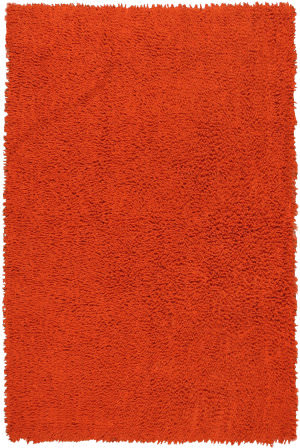 St. Croix Shagadelic Chs17 Orange Area Rug