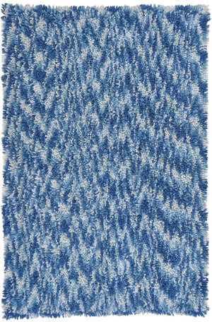 St. Croix Shagadelic Chs30 Blue Area Rug