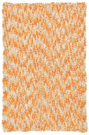 St. Croix Shagadelic Chs33 Orange Area Rug