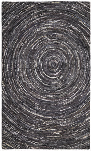 St. Croix Brilliant Ribbon Crb10 Grey Area Rug