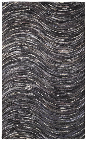 St. Croix Brilliant Ribbon Crb14 Grey Area Rug