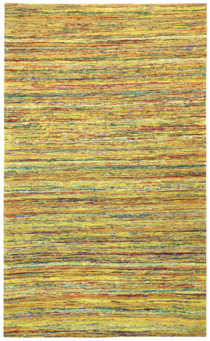 St. Croix Sari Silk Cst05 Yellow Area Rug