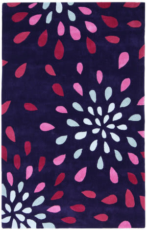 St. Croix Structure Ct80 Purple Area Rug
