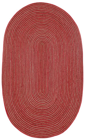 St. Croix Earth First Hc01 Red Area Rug