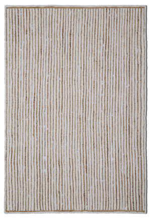St. Croix Earth First Hc04 White Area Rug