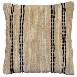 St. Croix Pillows Plcd09 Tan / Black