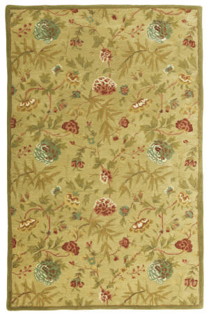 St. Croix Traditions Pt27 Gold Area Rug