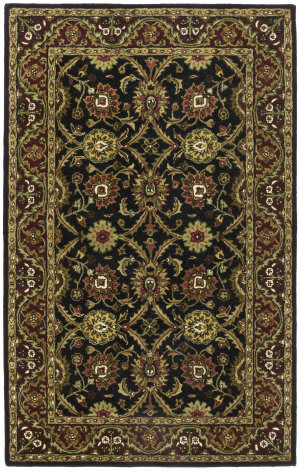 St. Croix Traditions Pt44 Black Area Rug