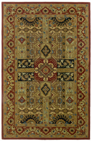 St. Croix Traditions Pt52 Olive Area Rug