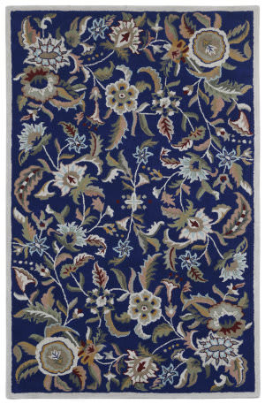 St. Croix Traditions Pt79 Blue Area Rug