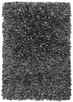 St. Croix Shimmer Shag Ss01 Grey Area Rug