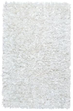 St. Croix Shimmer Shag Ss04 White Area Rug