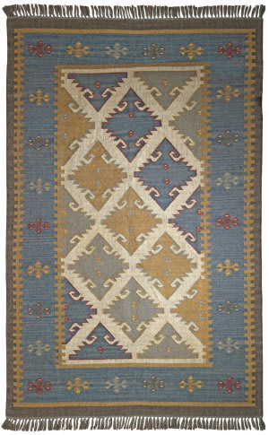 St. Croix Hacienda Wfw20 Blue-Grey Area Rug