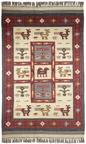 St. Croix Hacienda Wfw22 Off-White Area Rug