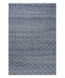 Stark Studio Rugs Essentials: Diamonds Blue - White