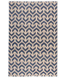 Stark Studio Rugs Essentials: Arrows Blue - White
