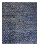 Stark Studio Rugs Essentials: Kitto Navy Blue - White