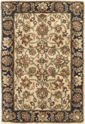 Surya Ancient Treasures A-116 Beige/Black Area Rug