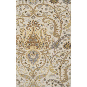 Custom Surya Ancient Treasures A-165 Oatmeal Area Rug