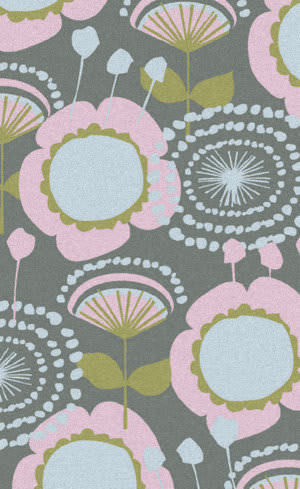 Surya Abigail ABI-9034 Pink / Blue / Green Area Rug