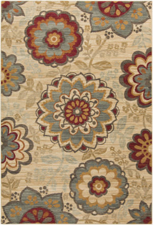 Surya Arabesque ABS-3015 Burgundy Area Rug