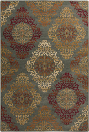 Surya Arabesque ABS-3022 Burgundy Area Rug
