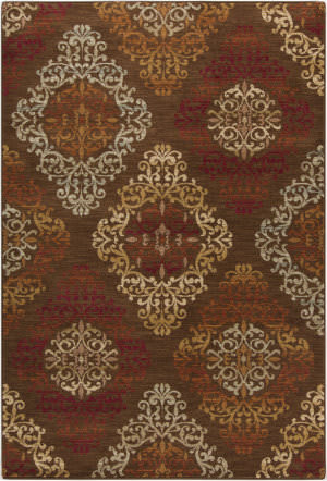 Surya Arabesque ABS-3028 Mocha Area Rug